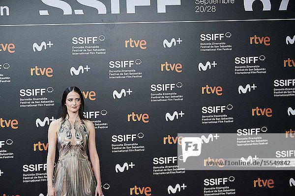 Eva Green attended 'Proxima' Premiere during 67th San Sebastian Film Festival at Kursaal Palace on September 21  2019 in San Sebastian  Spain
