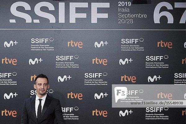 Alejandro Amenabar attended 'Mientras Dure la Guerra' Premiere during 67th San Sebastian Film Festival at Kursaal Palace on September 21  2019 in San Sebastian  Spain