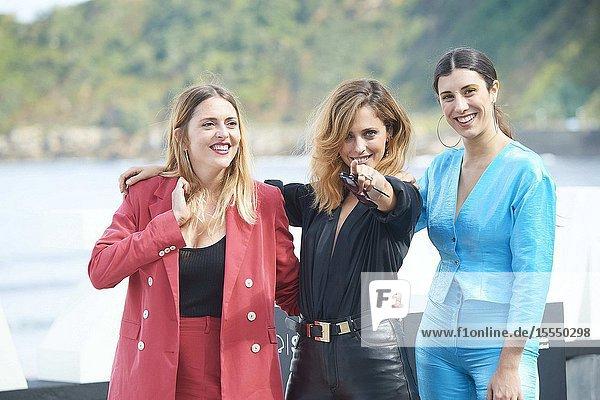 Leticia Dolera  Elena Martin  Ginesta Guindal attended 'Vida perfecta' Photocall during 67th San Sebastian Film Festival at Kursaal Palace on September 22  2019 in San Sebastian  Spain