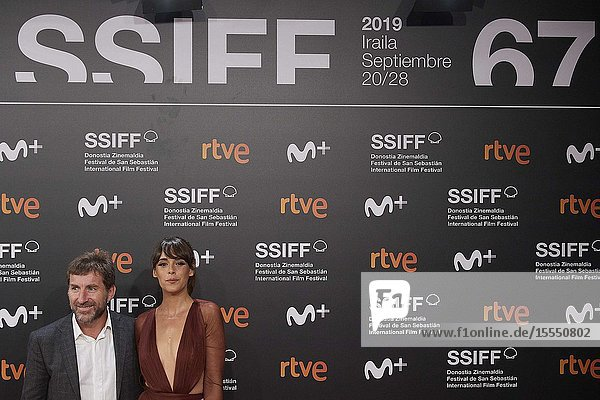 Antonio de la Torre  Belen Cuesta attended 'La trinchera infinita' Premiere during 67th San Sebastian Film Festival at Kursaal Palace on September 23  2019 in San Sebastian  Spain