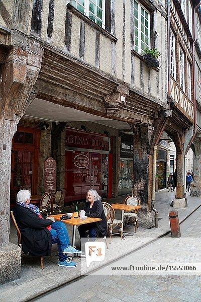 France  Bretagne  Cotes d'Armor  medieval city of Dinan
