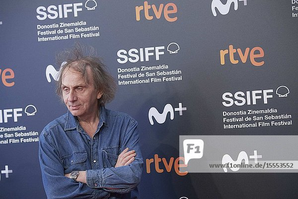 Michel Houellebecq attended 'Thalasso' Premiere during 67th San Sebastian Film Festival at Kursaal Palace on September 25  2019 in San Sebastian  Spain