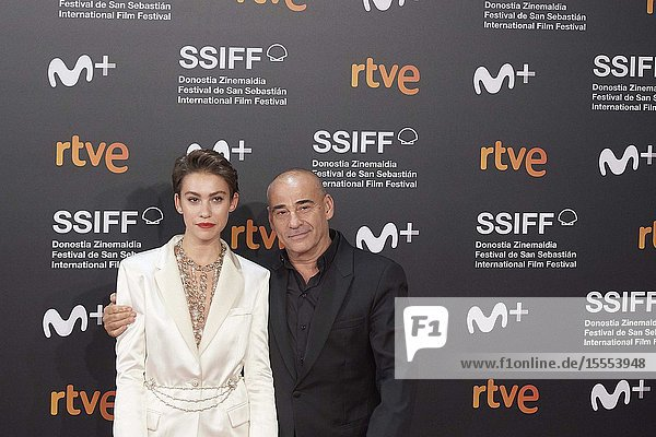 Greta Fernandez attended 'La Hija de un ladron' Premiere during 67th San Sebastian Film Festival at Kursaal Palace on September 25  2019 in San Sebastian  Spain