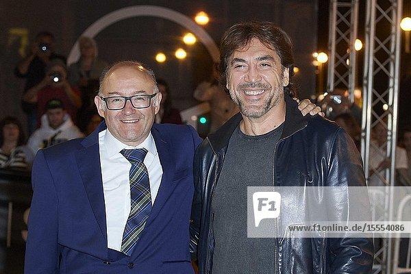 Javier Bardem arrives at Maria Cristina Hotel during 67th San Sebastian Film Festival on September 25  2019 in San Sebastian  Spain