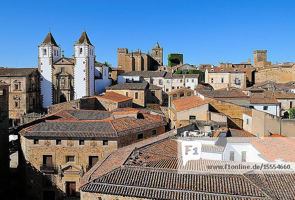 Old town of Cáceres. Extremadura. Spain
