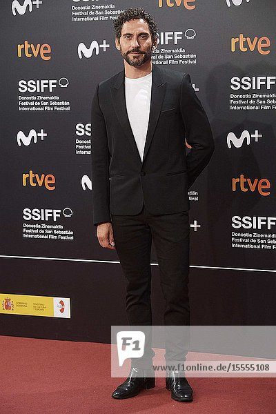 Paco Leon attended 'The Song of Names' Premiere during 67th San Sebastian Film Festival at Kursaal Palace on September 28  2019 in San Sebastian  Spain
