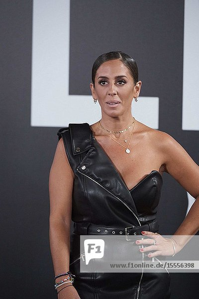Anabel Pantoja attends Yves Saint Laurent 'Libre' Fragance Party at Frabrica de Tapices on September 30  2019 in Madrid  Spain