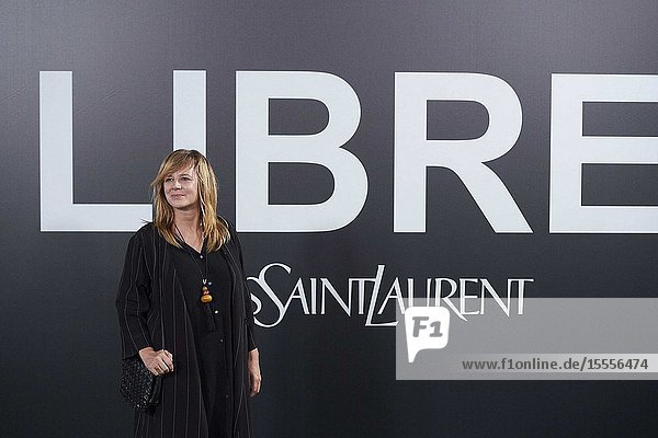 Emma Suarez attends Yves Saint Laurent 'Libre' Fragance Party at Frabrica de Tapices on September 30  2019 in Madrid  Spain