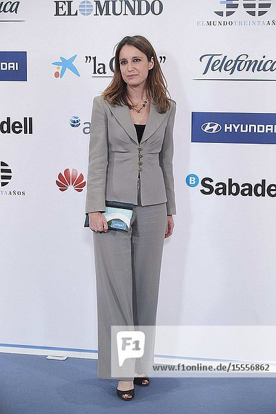 Andrea Levy attends the Commemoration of the 30th anniversary of 'El Mundo' newspaper at Hotel Palace on October 1  2019 in Madrid  Spain
