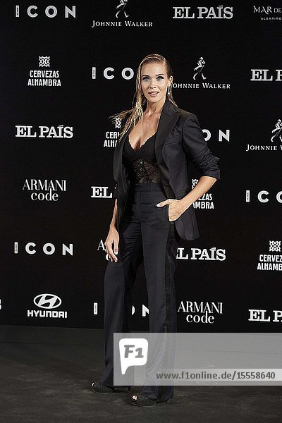 Patricia Montero attends ICON Awards 2019 at Real Fabrica de Tapices on October 9  2019 in Madrid  Spain