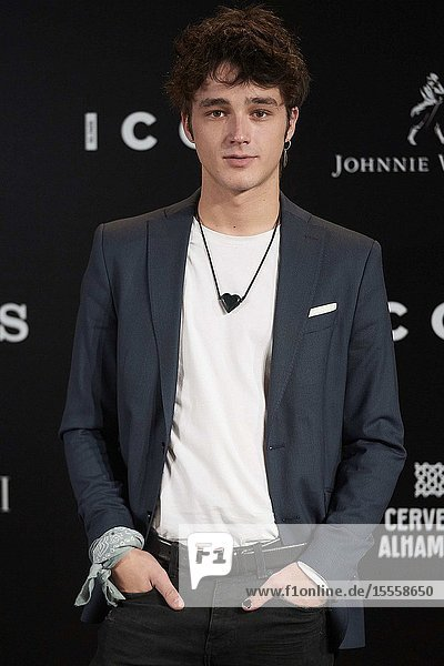 Pol Granch attends ICON Awards 2019 at Real Fabrica de Tapices on October 9  2019 in Madrid  Spain