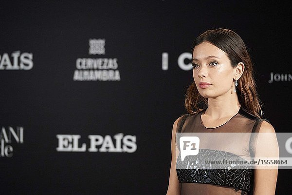 Anna Castillo attends ICON Awards 2019 at Real Fabrica de Tapices on October 9  2019 in Madrid  Spain