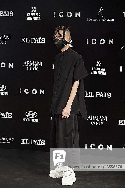 Chenta Tsai (Puto chino maricon) attends ICON Awards 2019 at Real Fabrica de Tapices on October 9  2019 in Madrid  Spain