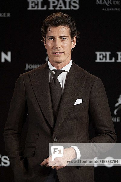 Oriol Elcacho attends ICON Awards 2019 at Real Fabrica de Tapices on October 9  2019 in Madrid  Spain