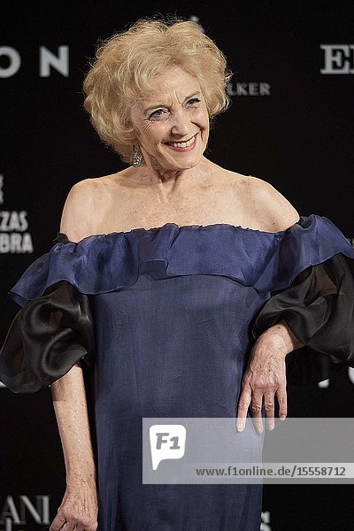 Marisa Paredes attends ICON Awards 2019 at Real Fabrica de Tapices on October 9  2019 in Madrid  Spain