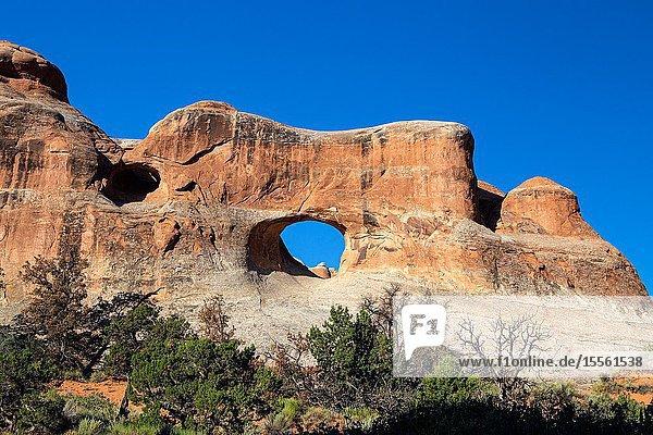 Arches Nat. Park  Moab  Utah  United States.