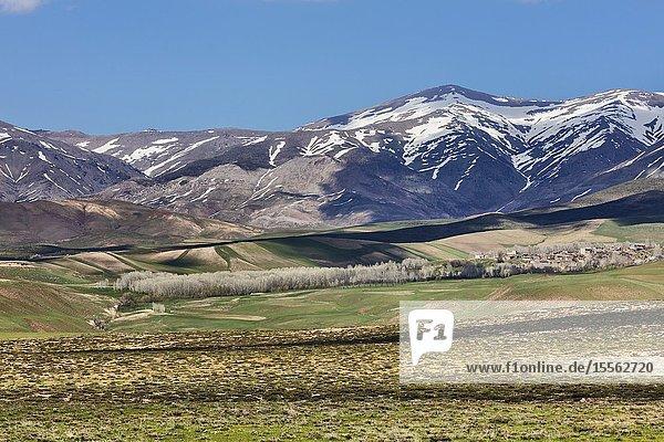 Mountain landscape  West Azerbaijan  Iran.