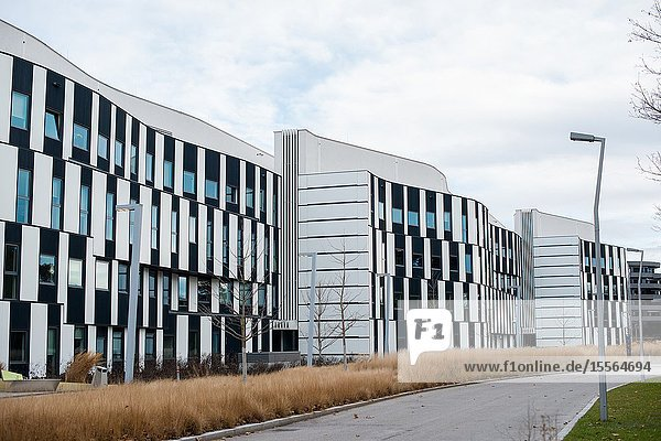 The D2/SC Student Center at the Vienna University of Economics and Business. Austria.