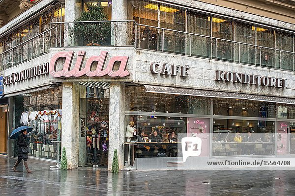 Aida one of Vienna's most famous cafe chains  Vienna  Austria  Europe