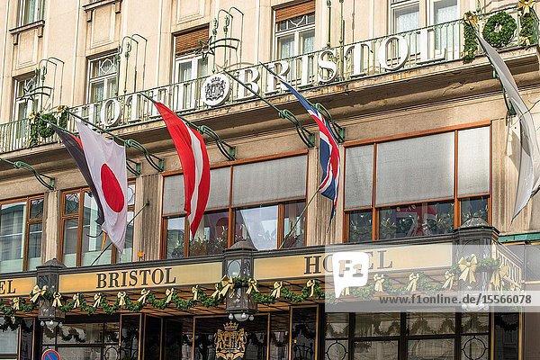 Hotel Bristol  Innere Stadt  Vienna  Austria.