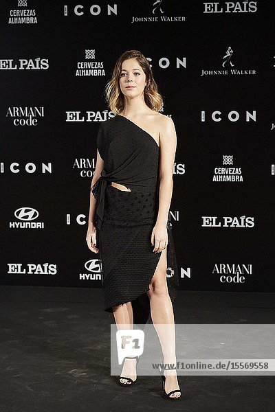 Georgina Amoros attends ICON Awards 2019 at Real Fabrica de Tapices on October 9  2019 in Madrid  Spain