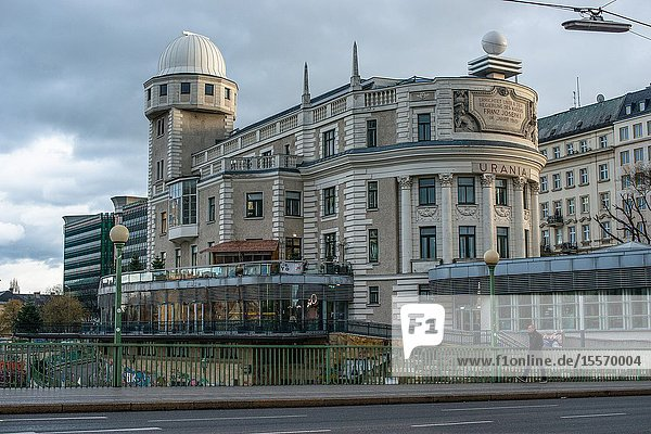 Urania is a public educational institute and observatory in Vienna  Austria.