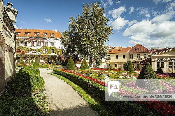 Vrtba Garden in Mala Strana  Prague.