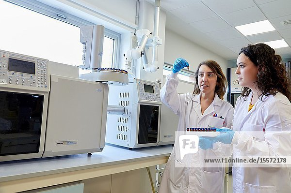 Researcher  Gas and liquid chromatograph  Biotechnology Laboratory  Food industry  Unit of Health  Technology Centre  Tecnalia Research & Innovation  Miñano  Alava  Basque Country  Spain