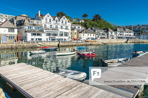 The picturesque village of St Mawes on the Roseland Peninsula near Falmouth in Cornwall  England  UK.