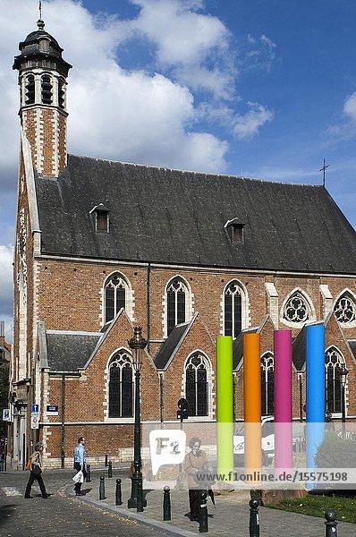 Chapelle de la Madeleine  Brussels  Belgium.