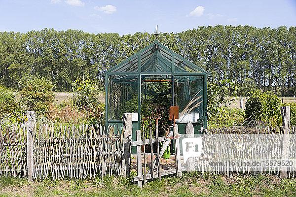 Deutschland  Mecklenburg-Vorpommern  Parkentin  Kleingartenanlage