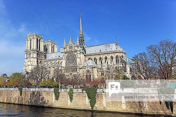 Frankreich,  Paris,  Ile de la Cite,  Kathedrale Notre-Dame, Frankreich,  Paris,  Ile de la Cite,  Kathedrale Notre-Dame