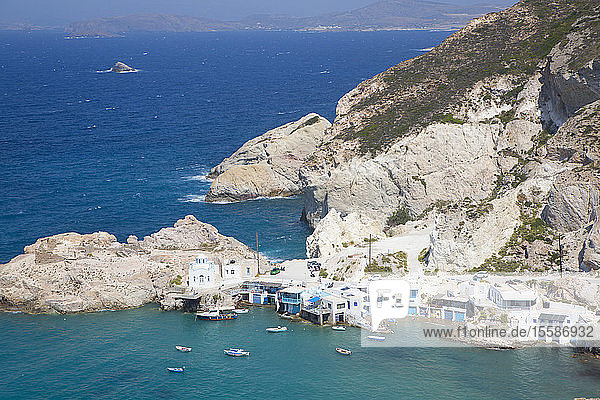Fyropotamos Village  Milos Island  Cyclades Group  Greek Islands  Greece
