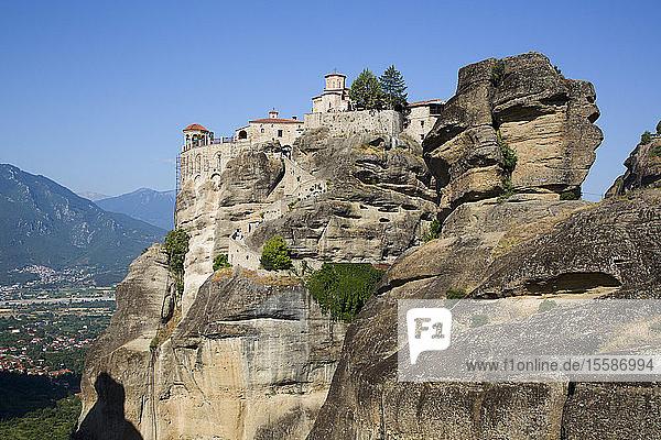 Holy Monastery of Varlaam  Meteora  UNESCO World Heritage Site  Thessaly  Greece