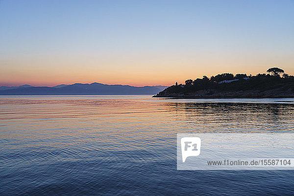 Sunrise  Gaios  Paxos  Ionian Islands  Greek Islands  Greece