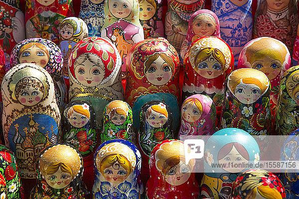 Matryoshka Dolls  Rostov Veliky  Golden Ring  Yaroslavl Oblast  Russia