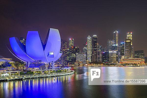 Marina Bay at night  Singapore