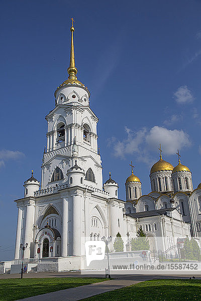 Bell Tower  Assumption Cathedral  UNESCO World Heritage Site  Vladimir  Russia