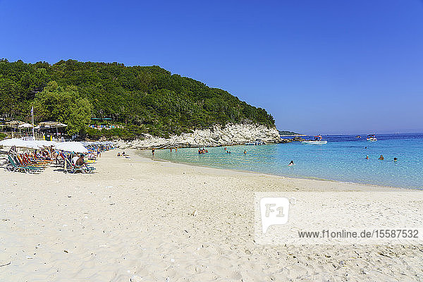 Vrika Beach  Antipaxos  Paxos  Ionian Islands  Greek Islands  Greece
