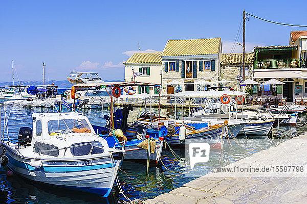 Loggos (Longos)  Paxos  Ionian Islands  Greek Islands  Greece