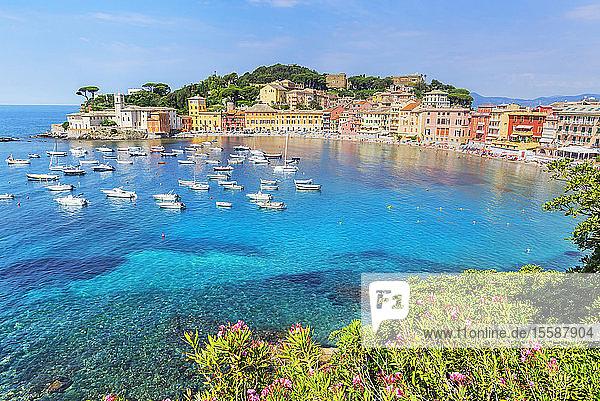 Bay of Silence,  Sestri Levante,  Liguria,  Italy