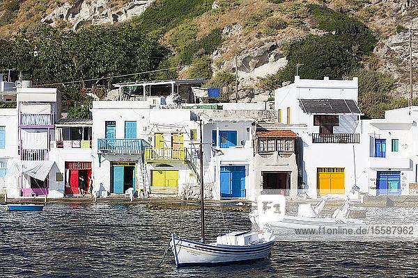 Klima Village  Milos Island  Cyclades Group  Greek Islands  Greece