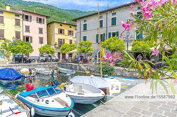 Italy  Lombardy  Gargano  Lake Garda  Harbour