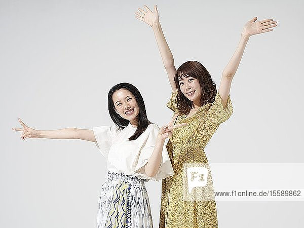Young Japanese women portrait
