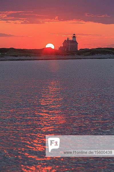 Sunset over North Lighthouse