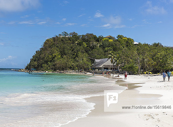 Long Bay beach in Antigua