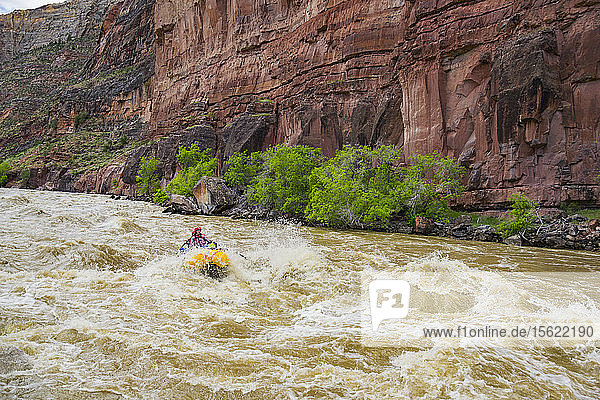 Rafting On The Yampa And Green Rivers Through Dinosaur National Monument