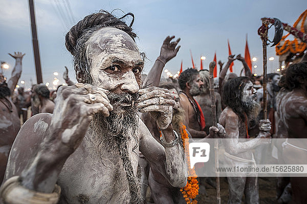 Kumbh Mela is a mass Hindu pilgrimage of faith in which Hindus gather to bathe in a sacred river. It is considered to be the largest peaceful gathering in the world where around 100 million people were expected to visit during the Maha Kumbh Mela in 2013 in Allahabad.