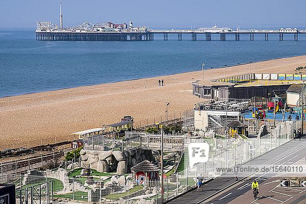 Brighton Pier; Brighton  East Sussex  England