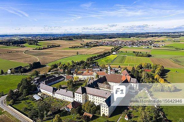 Dillinger Franziskanerinnen Provinz Maria Medingen  Kloster Mödingen  Bistum Augsburg  Mödingen  Bayern  Deutschland  Europa